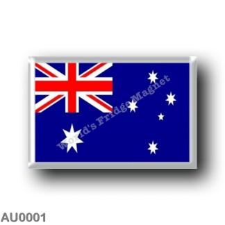 AU0001 Oceania - Australia - Australian Flag