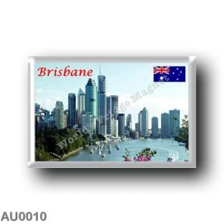 AU0010 Oceania - Australia - Brisbane - Skyline