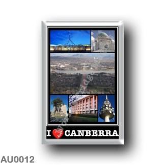 AU0012 Oceania - Australia - Camberra - I Love