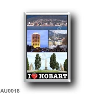 AU0018 Oceania - Australia - Hobart - I Love