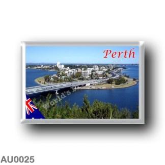 AU0025 Oceania - Australia - Perth - Skyline