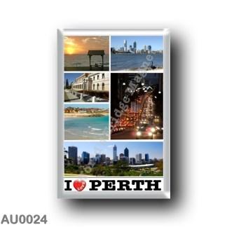AU0024 Oceania - Australia - Perth - I Love