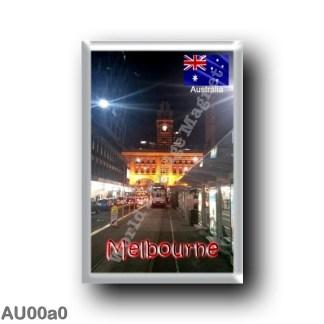AU00a0 Oceania - Australia - Melbourne By Night