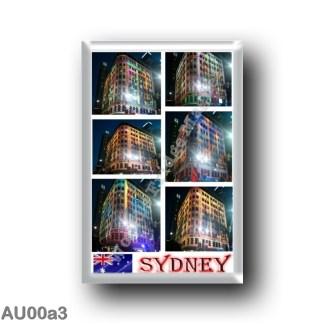 AU00a3 Oceania - Australia - Sydney - George Street Mosaic