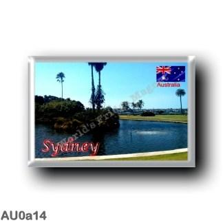 AU0a14 Oceania - Australia - Sydney - Royal Botanic Gardens