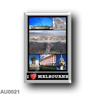 AU0021 Oceania - Australia - Melbourne - I Love
