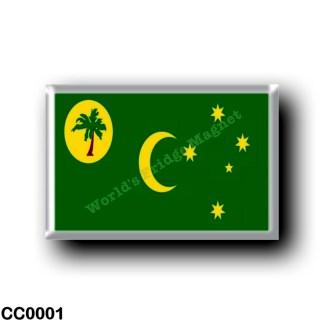 CC0001 Oceania - Cocos (Keeling) Islands - Flag