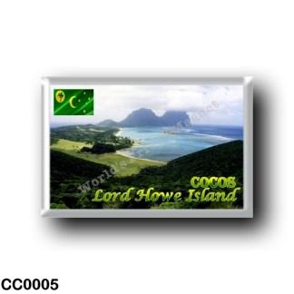 CC0005 Oceania - Cocos (Keeling) Islands - Lord HoweIsland