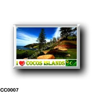 CC0007 Oceania - Cocos (Keeling) Islands - I Love