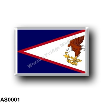AS0001 Oceania - American Samoa - Flag