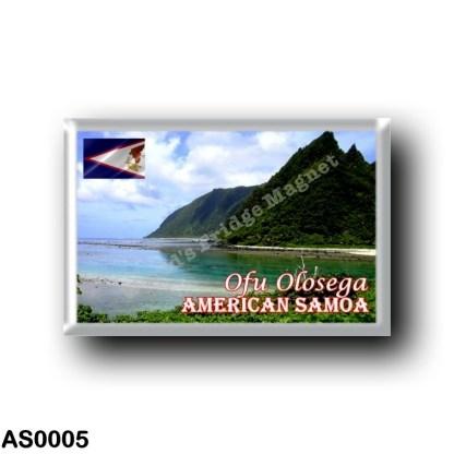 AS0005 Oceania - American Samoa - Ofu Olosega