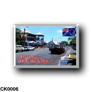 CK0006 Oceania - Cook Islands - Avarua