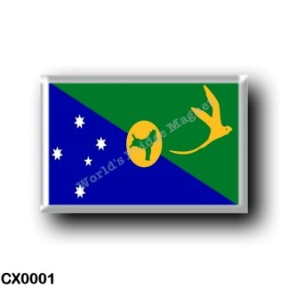 CX0001 Oceania - Christmas Island - Flag