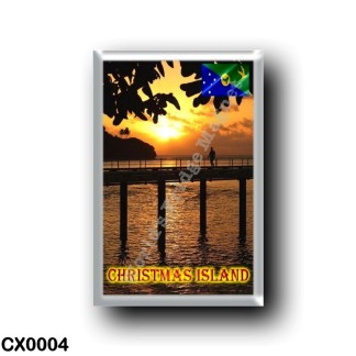 CX0004 Oceania - Christmas Island - Sunset