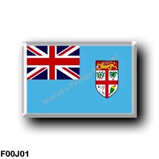 FJ0001 Oceania - Fiji - Flag
