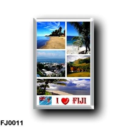 FJ0011 Oceania - Fiji - I Love