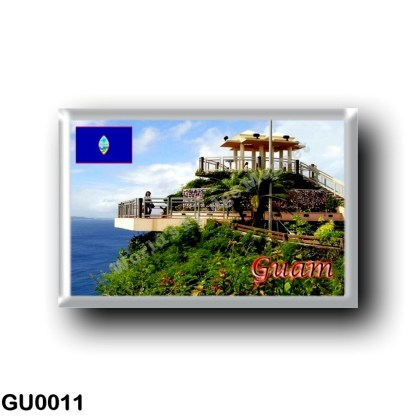 GU0011 Oceania - Guam - Puntan Dos Amantes