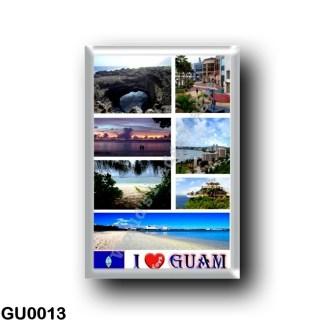GU0013 Oceania - Guam - I Love