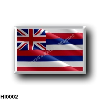 HI0002 Oceania - Hawaii - Flag Waving Hawaiian