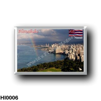 HI0006 Oceania - Hawaii - Honolulu - Panorama