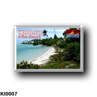 KI0007 Oceania - Kiribati - Nice Beach