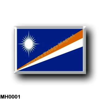 MH0001 Oceania - Marshall Islands - Flag