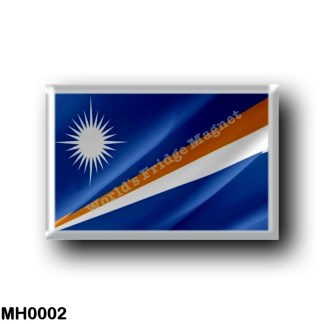 MH0002 Oceania - Marshall Islands - Flag Waving