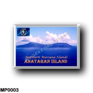 MP0003 Oceania - Northern Mariana Islands - Anatahan Island