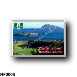 NF0003 Oceania - Norfolk Island - Philip Island