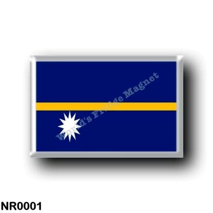 NR0001 Oceania - Nauru - Flag