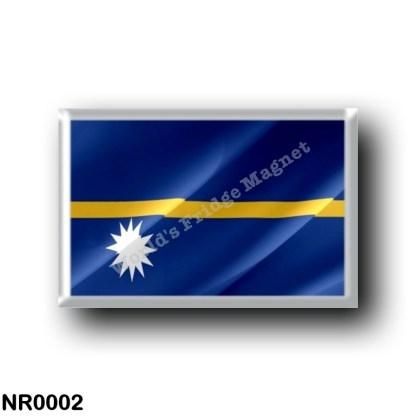 NR0002 Oceania - Nauru - Flag Waving