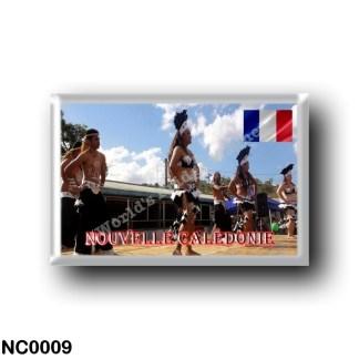 NC0009 Oceania - New Caledonia - Danseurs Mélanésiens