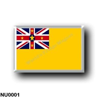 NU0001 Oceania - Niue - Flag