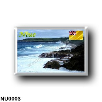 NU0003 Oceania - Niue - Niue Coastline
