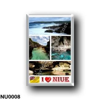 NU0008 Oceania - Niue - I Love