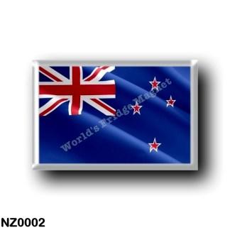 NZ0002 Oceania - New Zealand - waving flag
