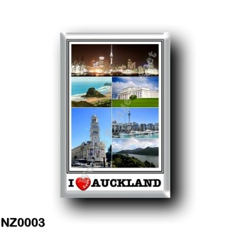 NZ0003 Oceania - New Zealand - Auckland - I Love