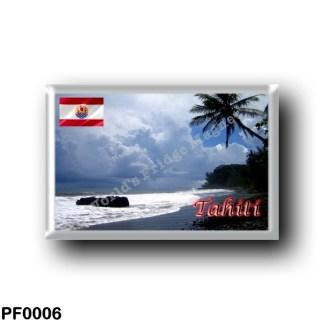 PF0006 Oceania - French Polynesia - Tahiti - Plage