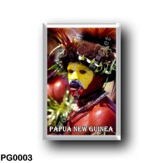 PG0003 Oceania - Papua New Guinea - Huli Wigman