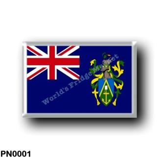 PN0001 Oceania - Pitcairn Islands - Flag
