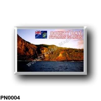 PN0004 Oceania - Pitcairn Islands - Bounty Bay