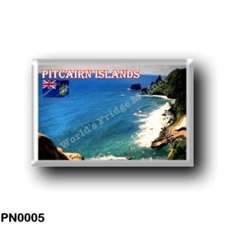 PN0005 Oceania - Pitcairn Islands - Pitcairnlanding