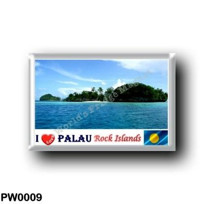PW0009 Oceania - Palau - Rock Islands - I Love