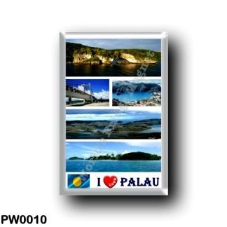 PW0010 Oceania - Palau - I Love