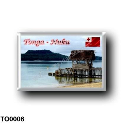TO0006 Oceania - Tonga - Nuku Island - Vava'u Beach