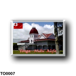 TO0007 Oceania - Tonga - Royal Palace