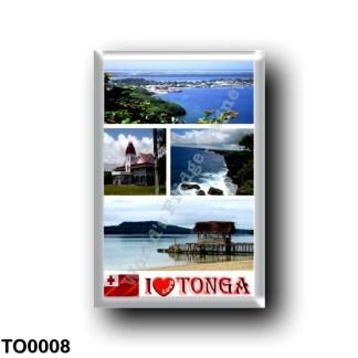 TO0008 Oceania - Tonga - I Love