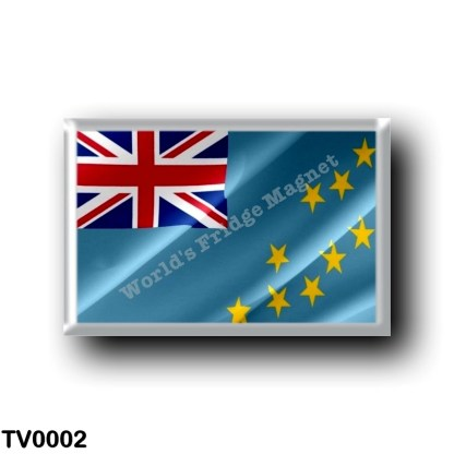 TV0002 Oceania - Tuvalu - Flag Waving