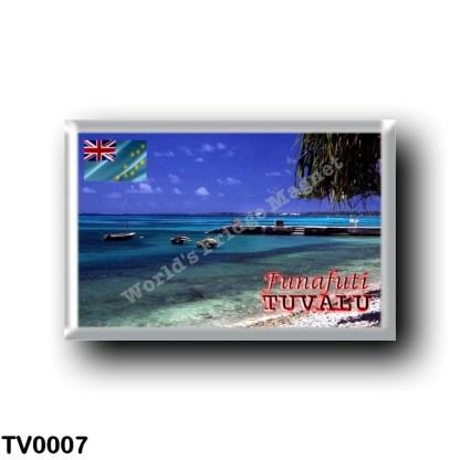 TV0007 Oceania - Tuvalu - Funafuti - Beach
