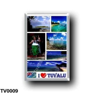TV0009 Oceania - Tuvalu - I Love